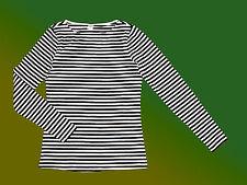 Damenshirt Langarmshirt Basic Shirt  Pullover Stretchshirt Gr. S gestreift NEU