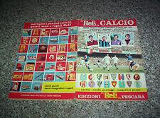 ALBUM CALCIATORI RELI 1969 1970 ORIGINALE CON 315 FIGURINE TIPO PANINI EDIS MIRA