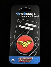 AUTHENTIC NEW PopSockets Wonder Woman Icon PopSocket Universal Phone Holder