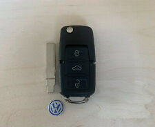 NEW VW VOLKSWAGEN FLIP KEY  FOB SHELL REPLACEMENT CASE KIT JETTA BEETLE PASSAT