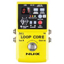 NUX Loop Core Effektgerät Gitarre Looper Pedal