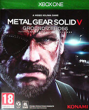 Metal Gear Solid V: Ground Zeroes Microsoft Xbox One 18+ Action Tactical Game