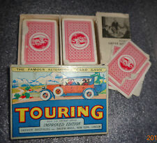 graphic old Touring card game