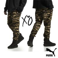 PUMA x XO Camo Men's Trousers Urban Wear Street Pants Designed By The Weeknd