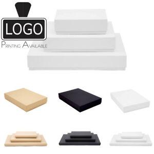 Luxury Rigid Presentation Stationery Gift Box A4, A5 & A6, Matt Finish 20mm/53mm