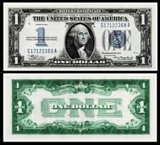 1934 $1 DOLLAR SILVER CERTIFICATE NOTE~~BRIGHT & CRISP~ALMOST UNCIRCULATED