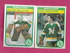 1982-83 OPC NORTH STARS BEAUPRE 2ND YEAR + MELOCHE  GOALIE  CARD (INV# C1018)