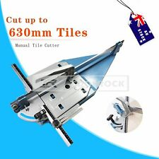 Heavy Duty Manual Tile Cutter - Cutting Machine Ceramic Cobalt Alloy Blade 63CM