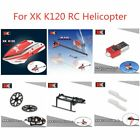 XK K120 Accs Parts Gear/300mAh Battery/Canopy/Landing Gear/Tail Blade/Tail Tube