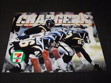 SAN DIEGO CHARGERS 1989-1990 WALL CALENDAR NEW NEVER USED
