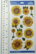 Sticko Sunflower Vellum - Package of Very Pretty Sunflower Stickers