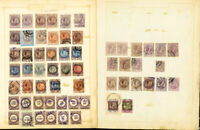 Italy Stamps 60x Revenue Early Specialized Scarce vintage