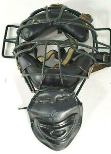 MacGregor B28 Catcher Face Mask Umpire Baseball Softball Equipment Adj *SEE NOTE
