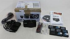 CANON EOS M 18MP Digital SLR Compact Touchscreen Camera Body Only w Accessories