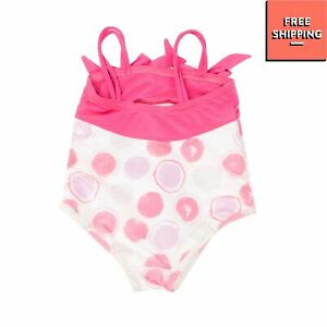 ARMANI BABY One Piece Swimsuit Size 6M / 62CM Polka Dot Pattern Fully Lined