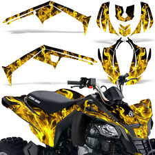 CanAm DS 250 ATV Graphic Kit Quad Decals Sticker Wrap Can Am DS250 06-16 ICE Y