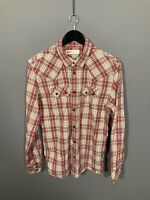LEVI'S Shirt - Slim Fit - Size Large - Check - Great Condition - Men's