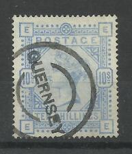 1883/91 Sg 183A, 10/- Pale Ultramarine (EE) Fine used.