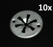 Für Audi VW Seat 10x Klemmscheibe Befestigungs Clips Abdeckung Hitzeschutzblech