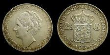 Netherlands - 2½ Gulden 1938 Grof Haar