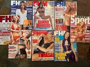 FHM Magazine Mega Bundle and a sneaky Inside Sport.