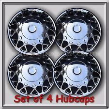 "2002-2003 Buick Century hubcaps 15"" Chrome Bolt On Buick Century Wheel Covers (4"