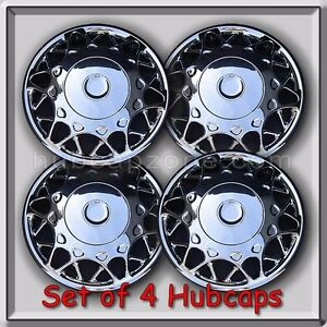 """2000-2001 Buick Century hubcaps 15"""" Chrome Bolt On Buick Century Wheel Covers (4"""