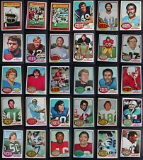 1976 Topps Football Cards Complete Your Set You U Pick From List 1-200
