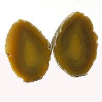 Agate. Agate Creek, Queensland, Australia (EA6066) polished nodule 2 halves