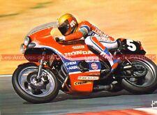 CHEMARIN Jean Claude HONDA 941 CB 750 BOL d'OR Carte Postale Moto Postcard