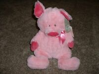 "L@@K Ganz Portia Ballerina Piggy Pig 8.5/"" H14171 Stuffed Animal Ships Global NEW"