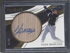 YOAN MONCADA 2017 IMMACULATE BAT BARREL WHITE SOX ON CARD AUTO #D 66/99