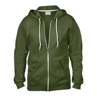 Anvil Full-Zip Hoodie Hooded Sweatshirt