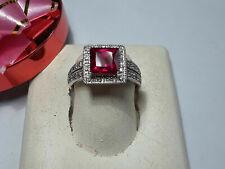 10kt White Gold 2.0ctw Diamond Cluster Ring
