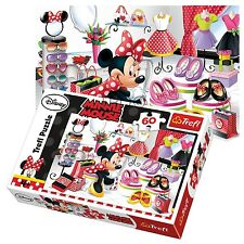 Trefl 60 Piece Kids Girls Disney Minnie Mouse Shopping Shoes Jigsaw Puzzle NEW
