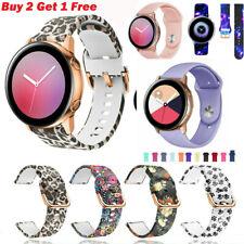 Correa de pulsera Sport banda de silicona para Samsung Galaxy Reloj activo 2 42 40 44mm
