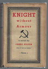 Knight Without Armour James Hilton First Edition 1st Printing HC/DJ