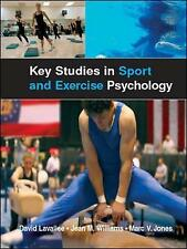 Key Studies in Sport and Exercise Psychology, Good Condition Book, Jones, Marc,