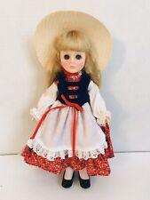 "11"" Vtg Effanbee Vinyl Doll Miss Germany 1970's"