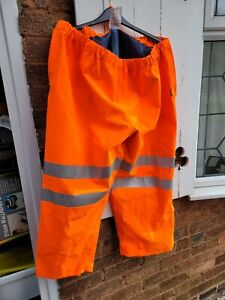 Gore Tex High Visibility Waterproof Trousers 2XL/XXL