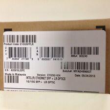 INTEL E10GSFPLR E65685-001 10G SFP TRANCEIVER LR OTPICS NEW BORWN BOX