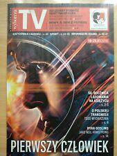 RYAN GOSLING / APOLLO 11 on front cover Polish Magazine WYBORCZA TV