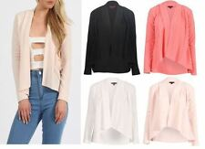 Unbranded Polyester Blazer Casual Coats & Jackets for Women