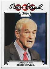 2008 Topps Ron Paul GOP Card #C08-RP Signed Republican