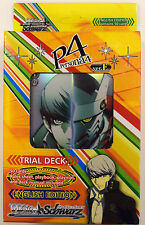Weiss Weib Schwarz P4 Persona 4 Factory Sealed English Trial Deck