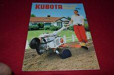 Kubota AT55 Walk Behind Tiller Dealers Brochure BWPA