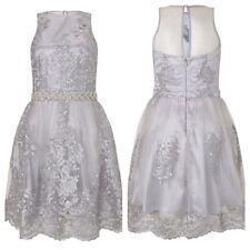 VIP Argento Pizzo Lipsy Prom Dress