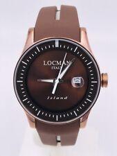 Orologio Locman Island Data Gomma/titanio 40mm 600BB 280€ Scontatissimo Nuovo