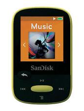 SanDisk Clip Sport Gelb (8GB) Digitaler Medienplayer