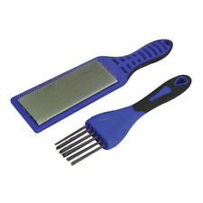 File Card Steel Wire Brush Kit For Files Faithfull FAIFCB